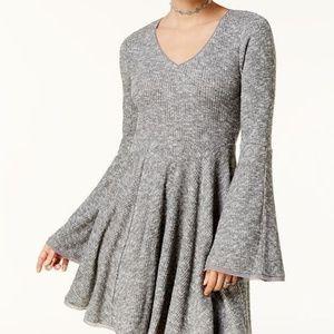 American Rag Bell-Sleeve Fit & Flare Dress